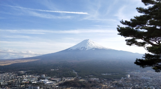 ログハウスkizukiから富士山見に行こう!