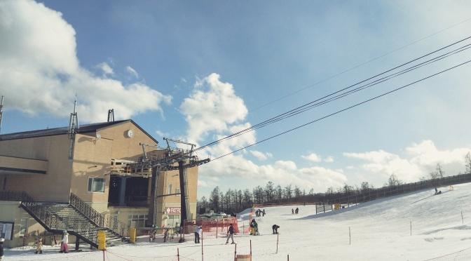 那須でスキー!ハイジのログハウスから車で13分