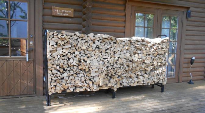 薪棚と薪ストーブの美しさ!
