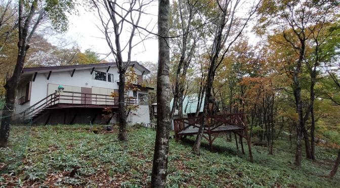 森の中の古い山小屋風物件が生まれ変わる!