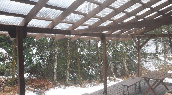 雪でも外でバーベキュー!薪ストーブがあるログハウスせせらぎで冬キャンプ気分